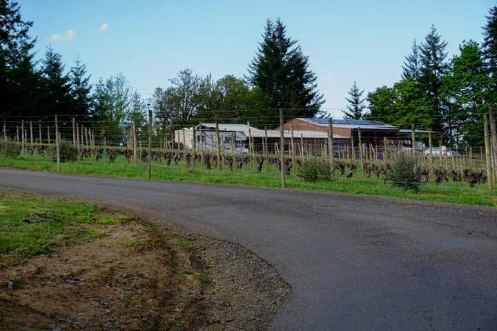 Kramer Vineyards RV Boondocking