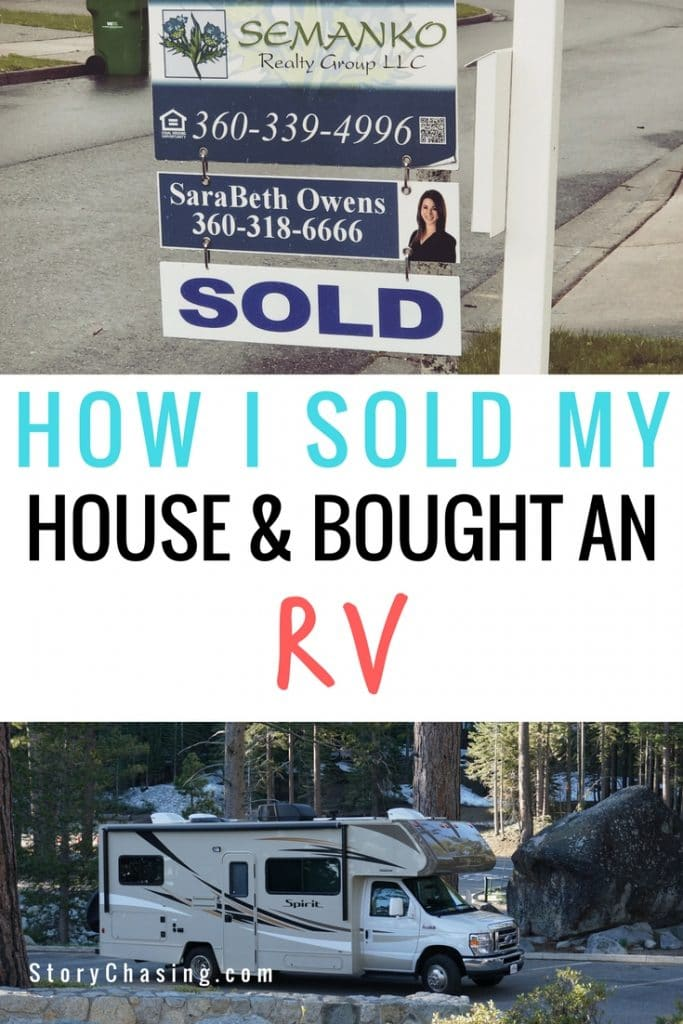 Sold House to RV full time