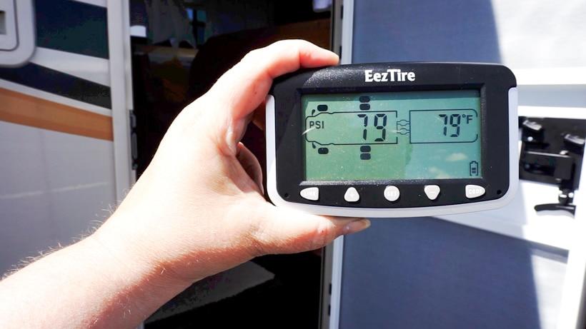 EEZTire Tire Pressure Monitoring System
