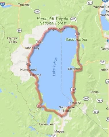 Lake Tahoe-East Shore Drive