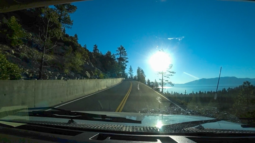 Lake Tahoe Fears No Guard Rail