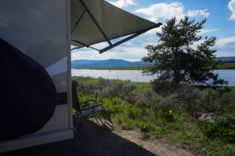 Snake River RV Boondocking