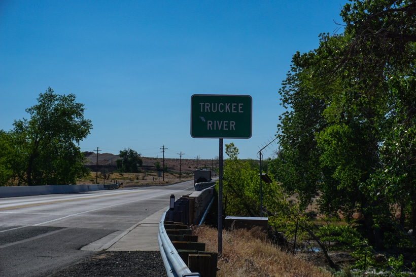 Truckee River Sign