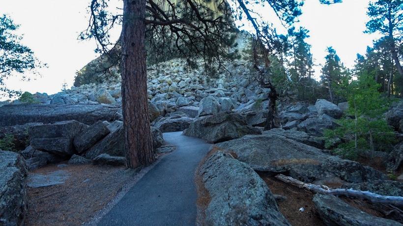 Devils Tower Boulder Field