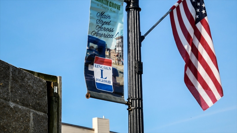 Lincoln Highway Flag