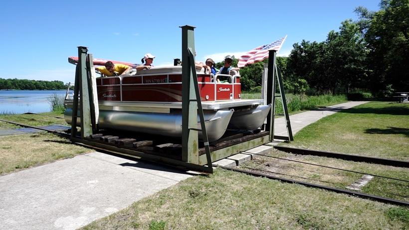Dunton Locks Boat