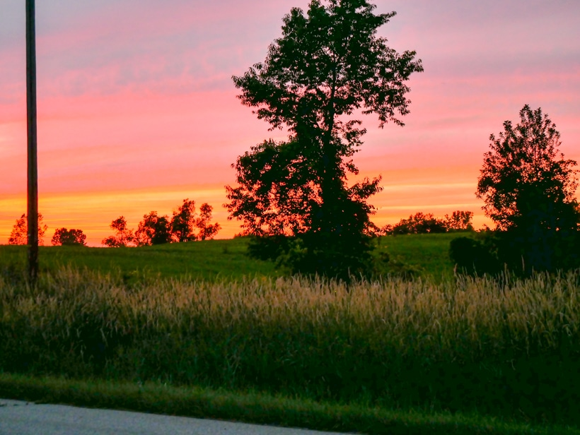 Amish Cultural Route Sunset