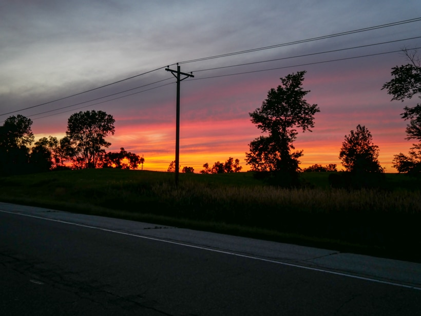 Amish Cultural Tour Sunset