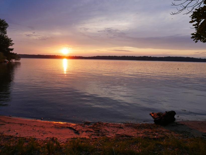 Wellesley State Park Beach Sundown
