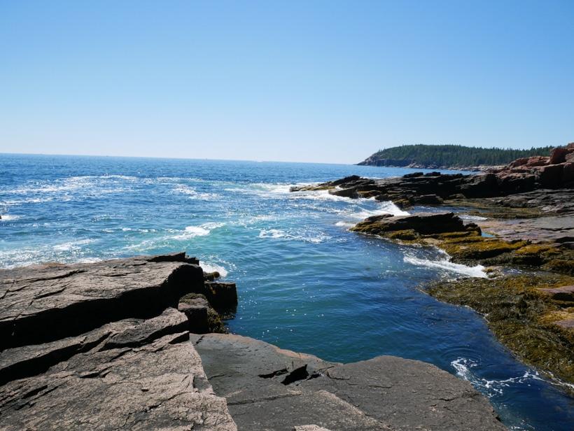 Acadia Beach and Ocean