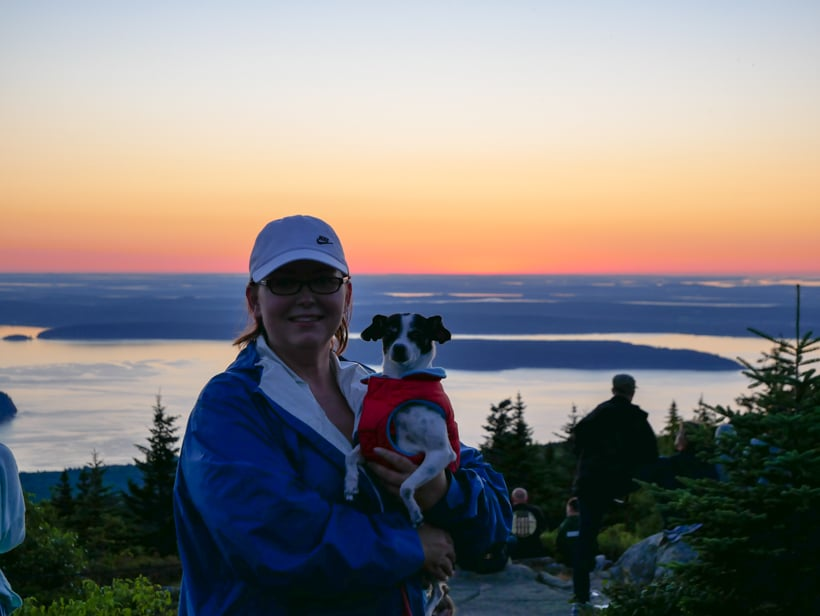 Cadillac Mountain Sunrise Acadia