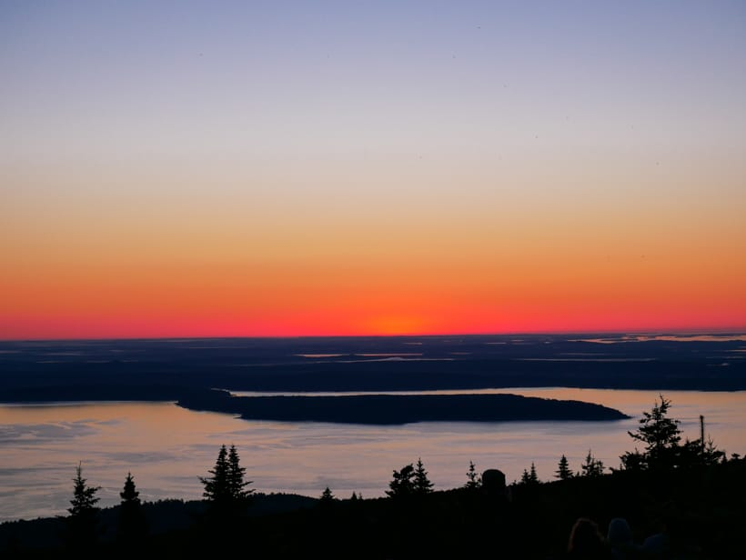 Cadillac Mountain Sunrise Early Morning