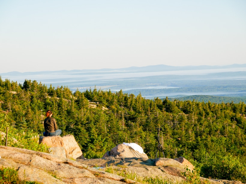 Cadillac Mountain Sunrise Meditation