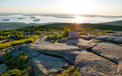 Acadia National Park & Cadillac Mountain Sunrise in Maine