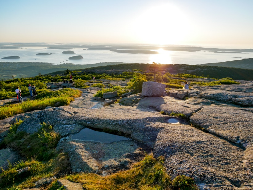 Cadillac Mountain Sunrise Spot