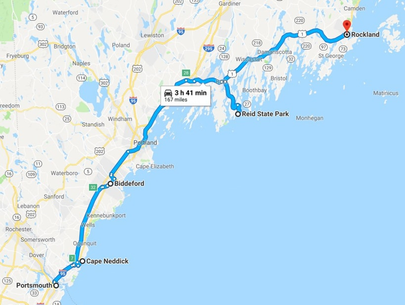 Maine Sightseeing Tour