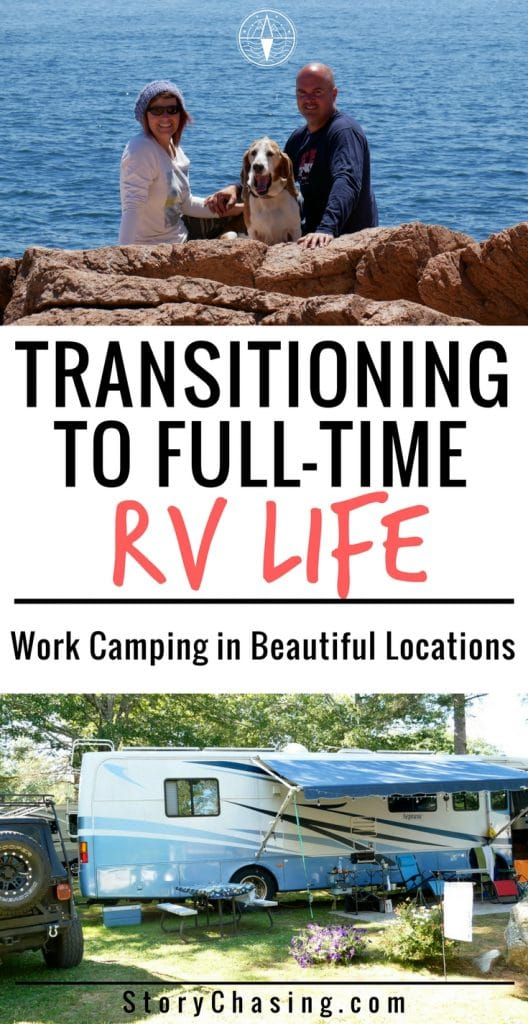 Transitioning to rv life