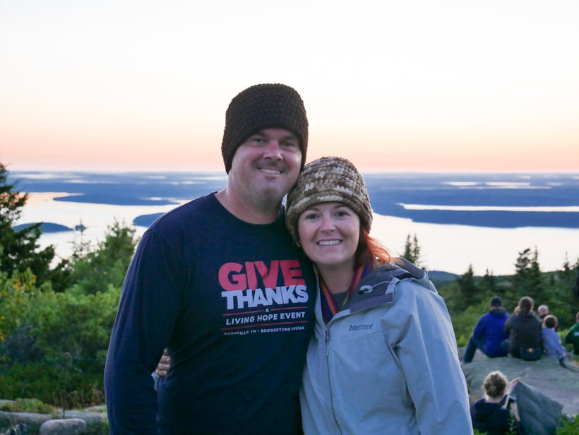 Wisers Cadillac Mountain Sunrise