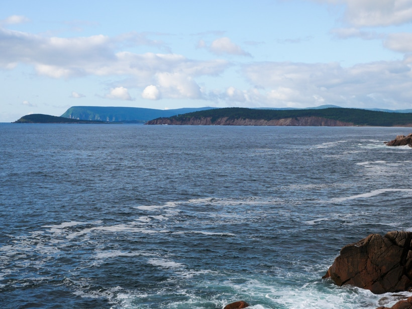Cabot Trail Cliffs