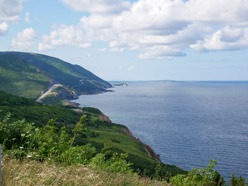 Cape Breton Island Shore Cliffs