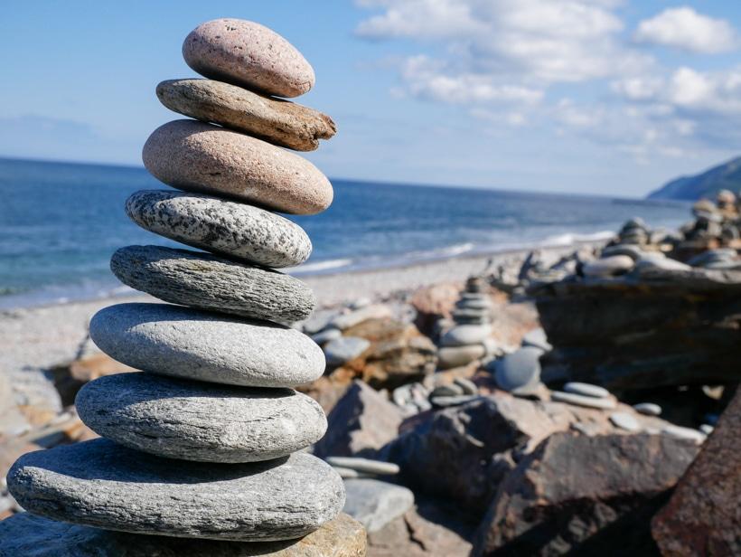 Cape Breton Island Zen Rocks 2