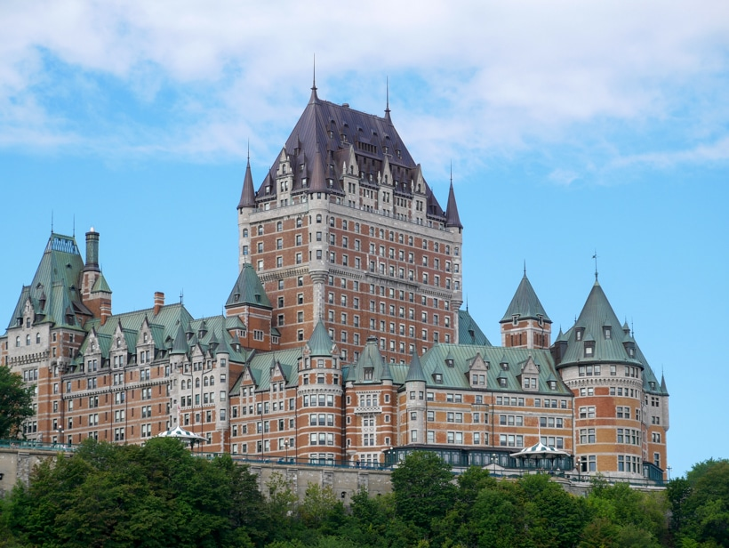 Fairmont Hotel Quebec City