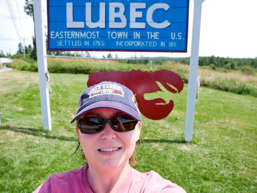 Lubec Maine Easternmost Point Amber