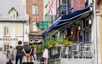 Touring European Old Quebec City with Old World Style