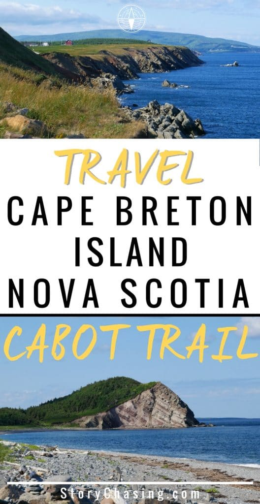 Travel Cape Breton Island Cabot Trail in Nova Scotia