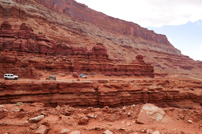 Moab offroading