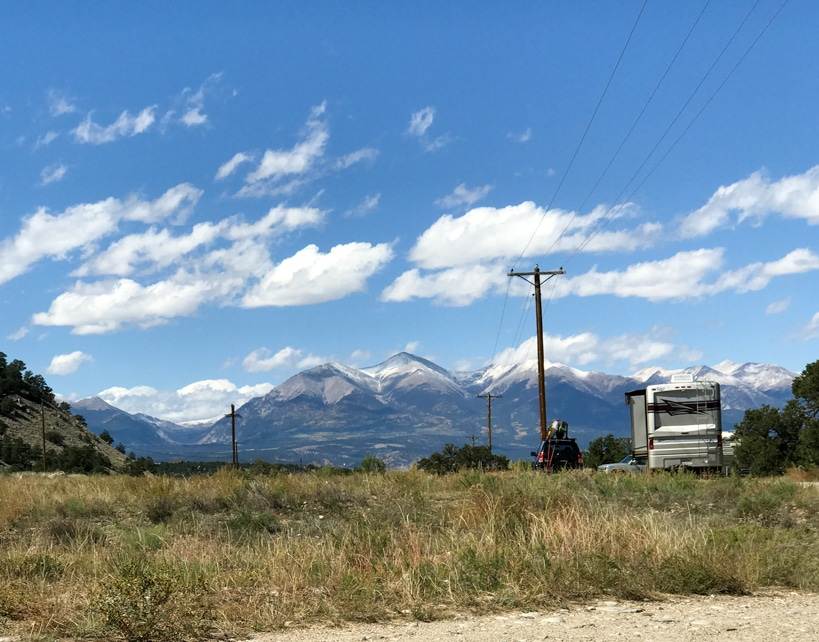 Salida Colorado Boondocking