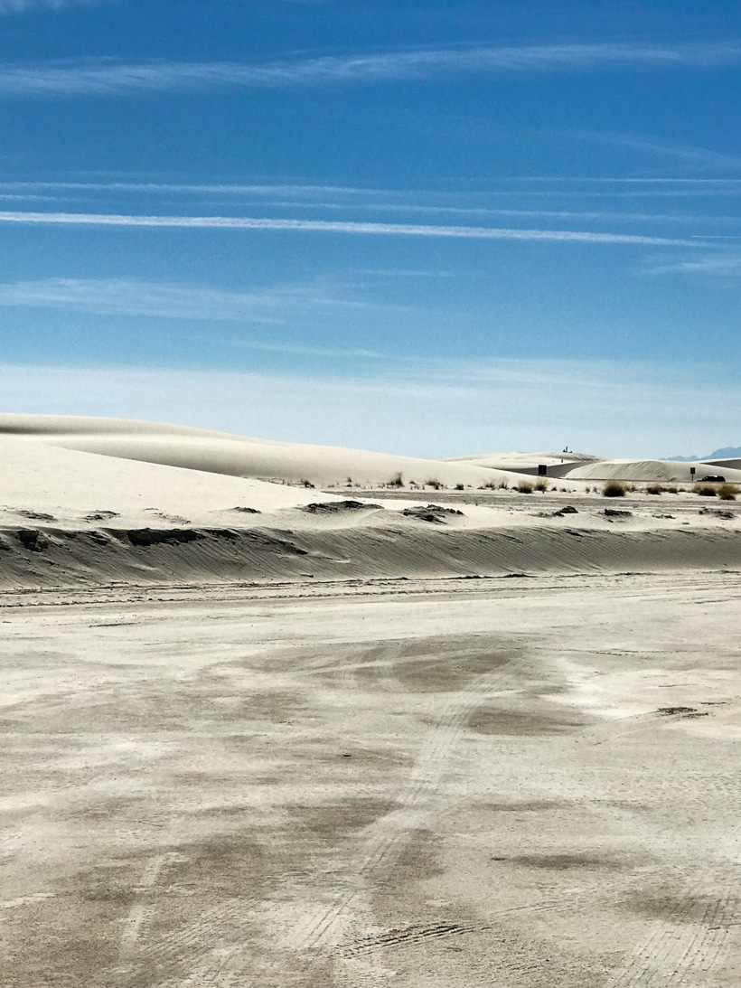 White Sand Dunes National Monument