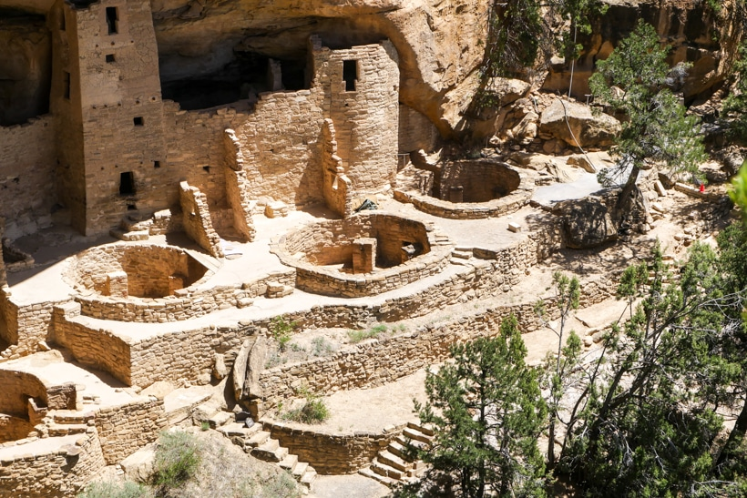 Mesa Verde National Park Cliff Dwellings2