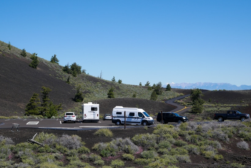 Craters of the Moon and My Hymer Aktiv