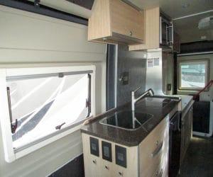 Hymer Aktiv Camper Van Kitchen