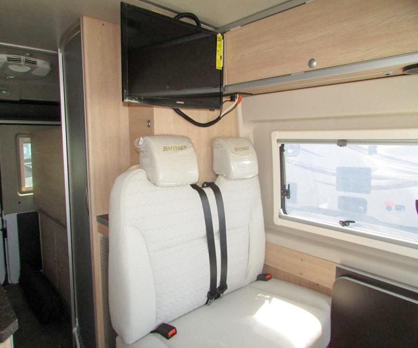 Hymer Aktiv Camper Van Living Room