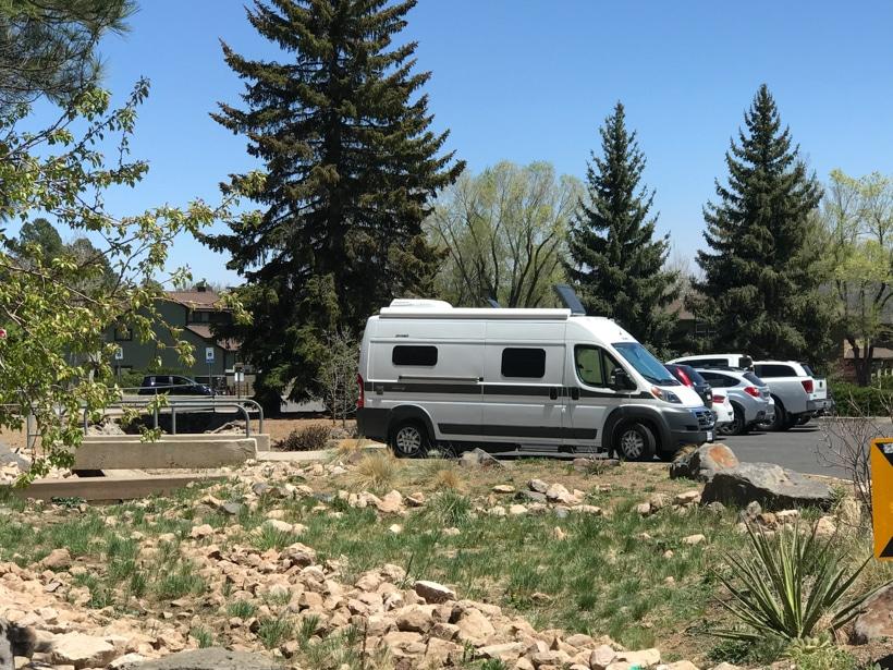 Hymer Aktiv Camper Van New Mexico