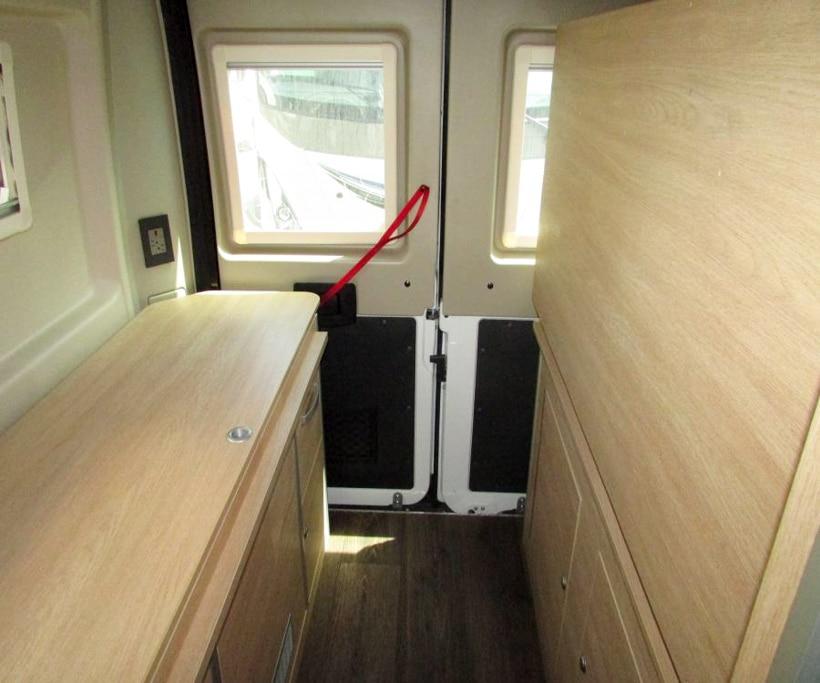 Hymer Aktiv Camper Van Under Bed Garage