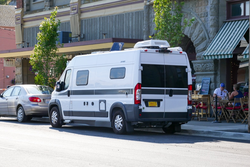 Hymer Aktiv in Port Townsend