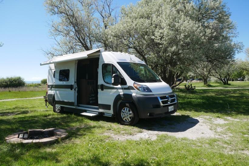 Hymer Atkiv Camper Van Tour