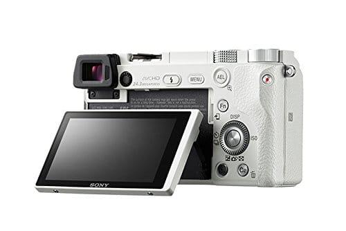 Sony A6000 Camera Back