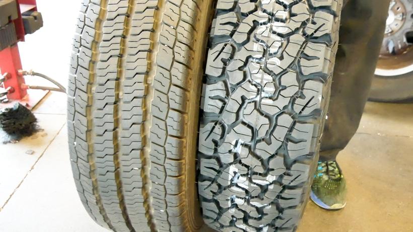 All Weather vs All Terrain Tire Comparison