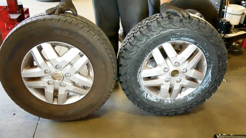All Weather vs All Terrain Tires