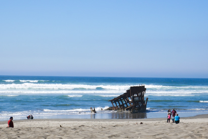 Fort Stevens Peter Iredale Shipwreck