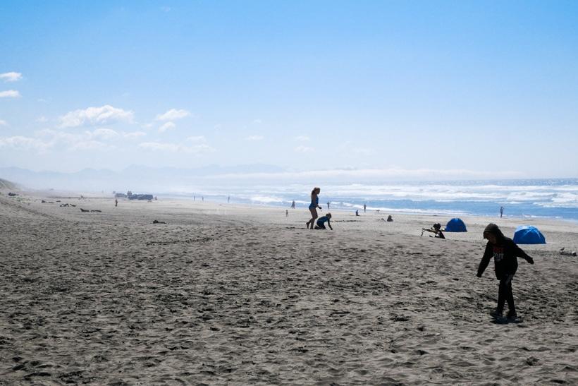 Fort Stevens State Park Beach