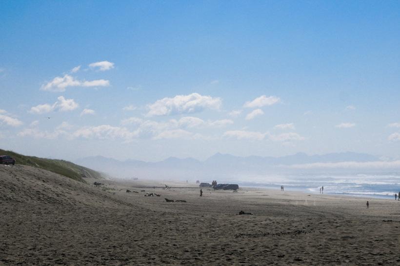 Fort Stevens State Park Pacific Ocean Beach