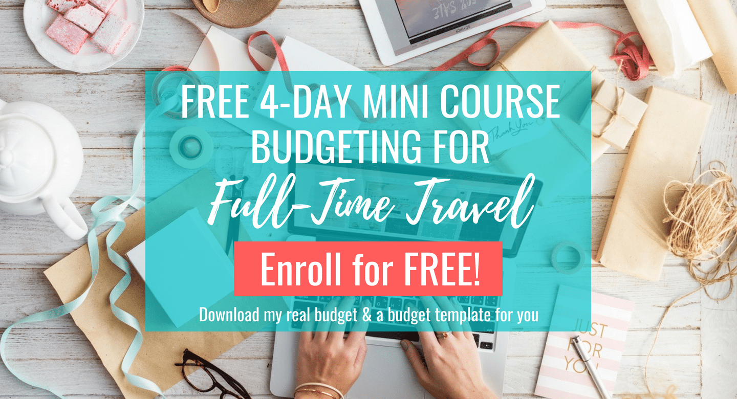 Free 4 Day Mini Course Budgeting