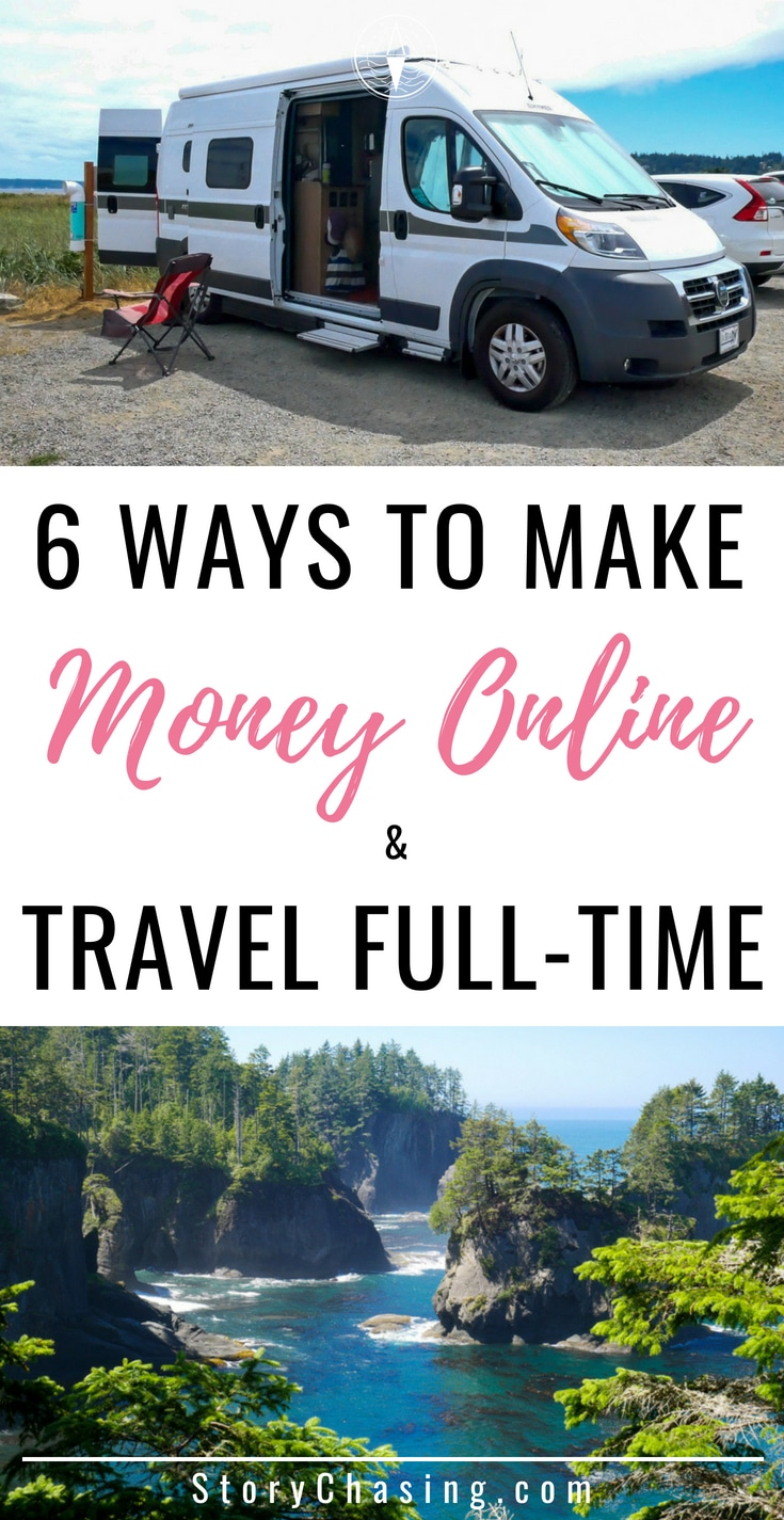 How to Make Money Online and Travel Full Time