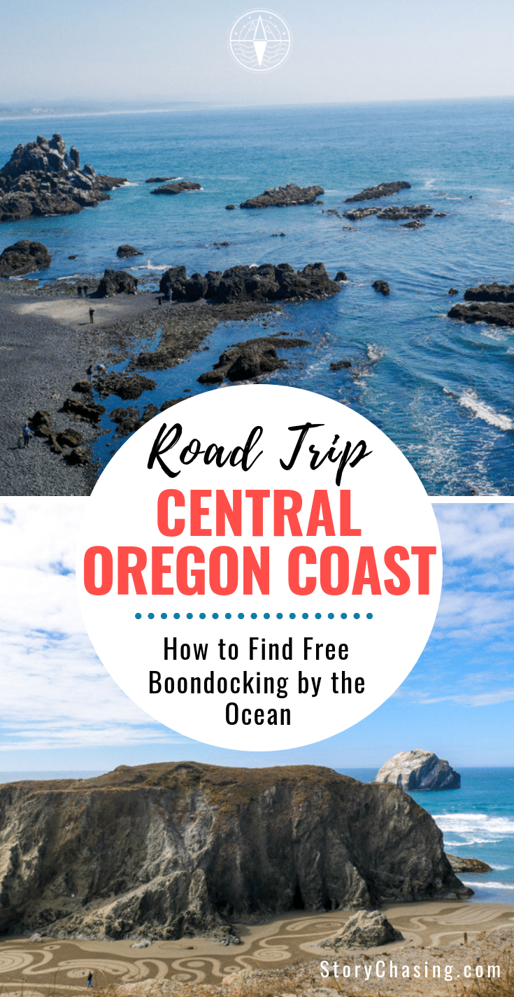 How to find free boondocking Central Oregon Coast