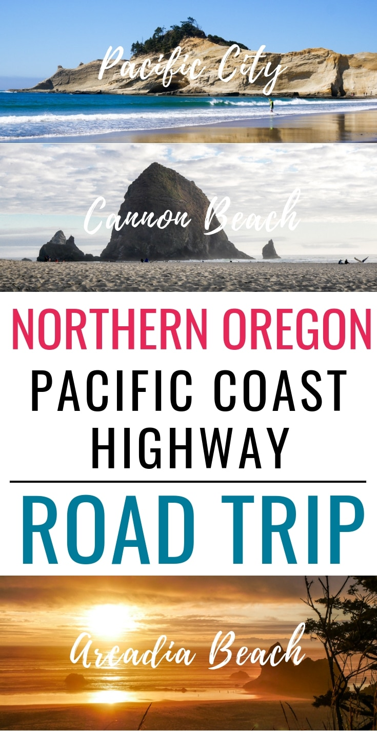 Northern Oregon Pacific Coast Highway Road Trip